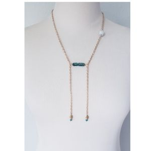 Handmade Lariat Necklace